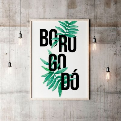 Poster Borogodó