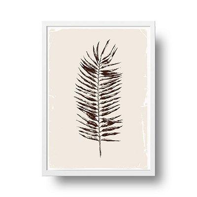 Poster Botanical - Folha de Palmeira