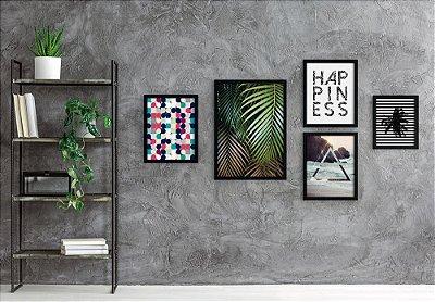 Conjunto de Quadros Decorativos - Modern Beach