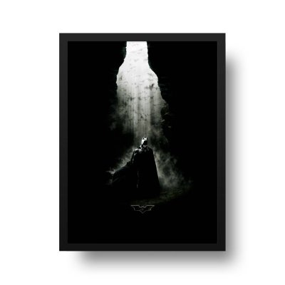 Quadro Decorativo Poster Cinema Filme Batman Begins