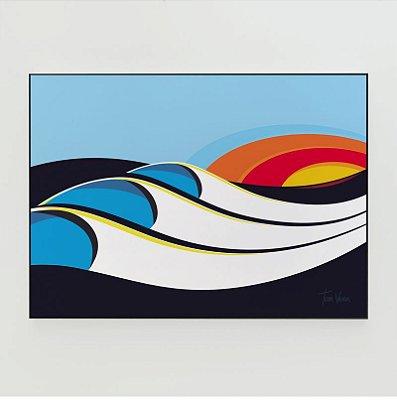 Quadro Decorativo Poster Bells Tom Veiga - Surf, Ondas, Austrália
