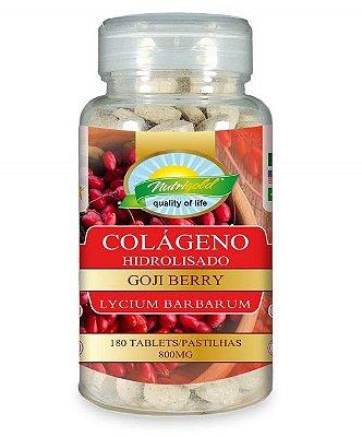 colágeno hidrolisado 180 caps goji berry