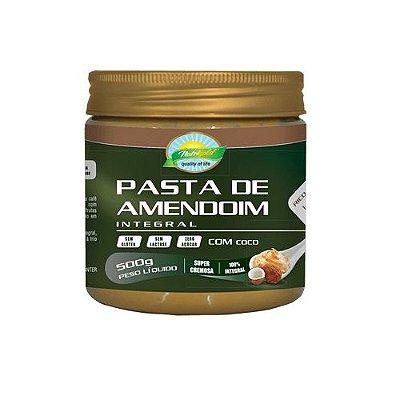 Pasta de amendoim com coco 500g nutrigold