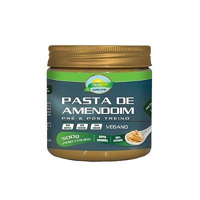 Pasta de amendoim vegana  500g nutrigold