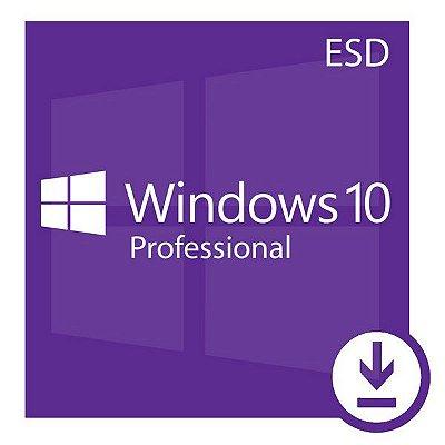 Microsoft Windows 10 Pro 32/64 Bits Original + Nota Fiscal