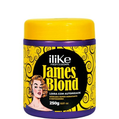 iLike James Blond Máscara - 250g