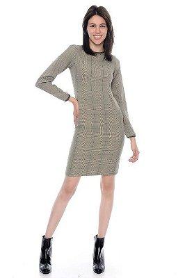 Vestido Xadrez alfaiataria - RF:0251