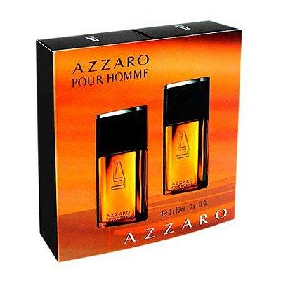 Kit Com 2 Perfumes Azzaro pour Homme Eau de Toilette 30ml Cada