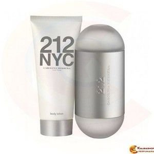 Kit 212 Carolina Herrera Feminino Edt 100ml + Hidratante 100ml