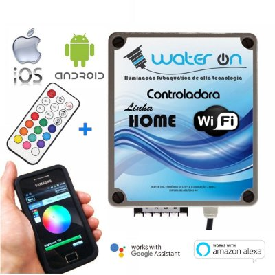 Central de Comando LED RGB Home WiFi Plus