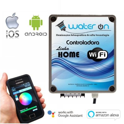Central de Comando LED RGB Home WiFi AUX1
