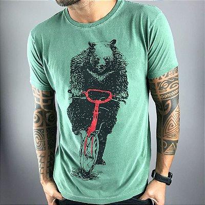 T-Shirt Bear and Bike