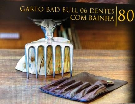 Garfo SG  6 Garras Bad Bull