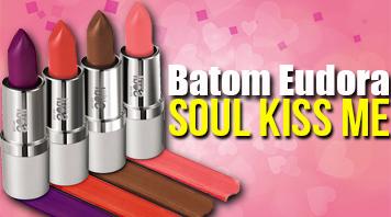 Batom Eudora Soul Kiss Me
