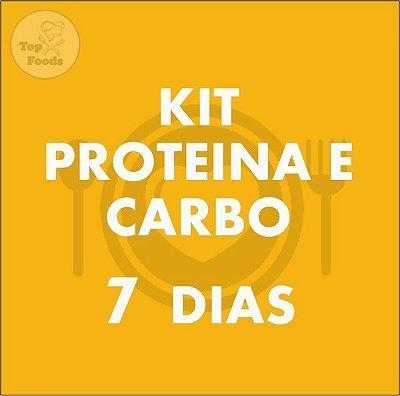 KIT PROTEÍNA E CARBOIDRATO 7 DIAS