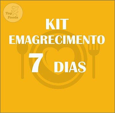 KIT EMAGRECIMENTO 7 DIAS