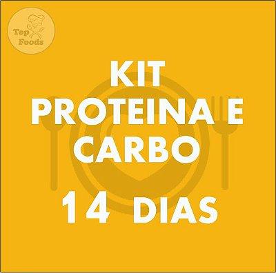 KIT PROTEÍNA E CARBOIDRATO 14 DIAS