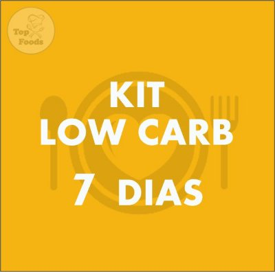 KIT LOW CARB 7 DIAS