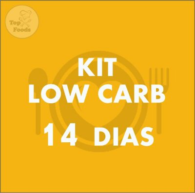 KIT LOW CARB 14 DIAS