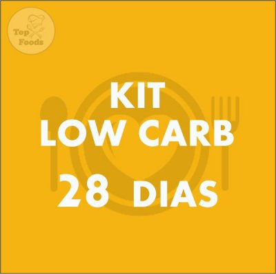 KIT LOW CARB 28 DIAS