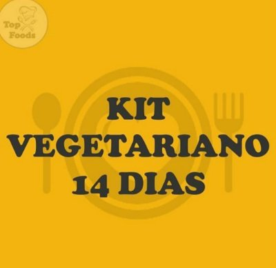 Kit Vegetariano 14 dias