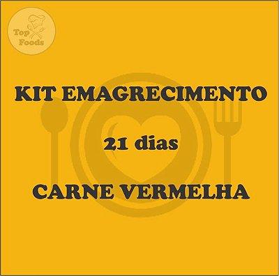 KIT ALMOÇO EMAGRECIMENTO 21 DIAS CARNE VERMELHA
