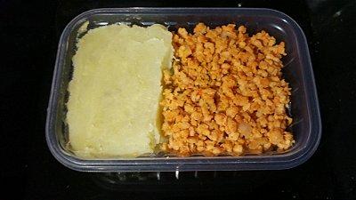 Batata doce com frango de soja 200gr