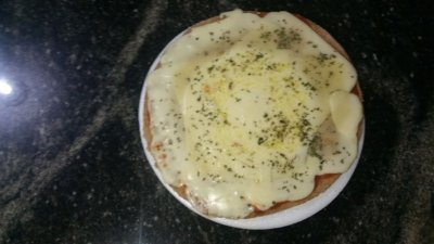 Mini Pizza Integral de Mussarela Light