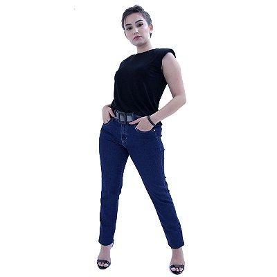 Calça Jeans Azul Escuro Cigarrete - LOOPPER - K2892359