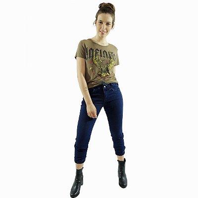 Jeans CAPRI Tornozelo JOGGER C/ Cinto - Loopper - K2892664