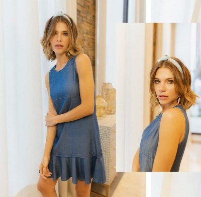 VESTIDO JEANS FOUR ONE