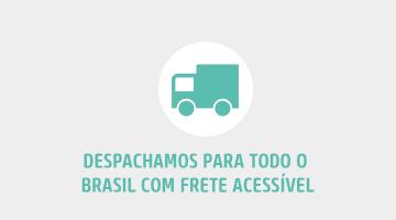 Despachamos para todo o Brasil