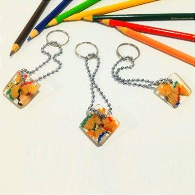 Chaveiro Raspas de lápis