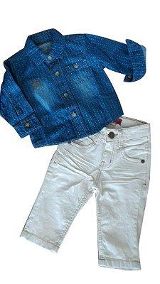 Conjunto Camisa Jeans Daniel