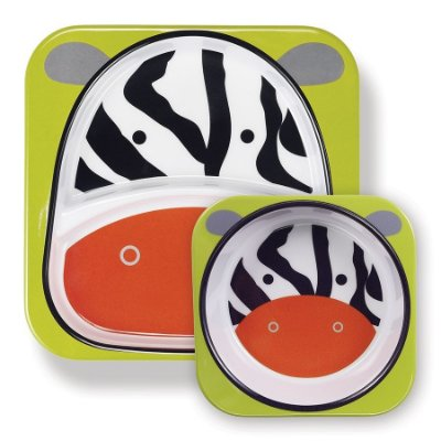 Set de Pratos Zoo Zebra - Skip Hop