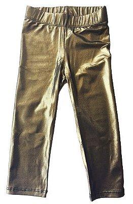 Legging Dourada