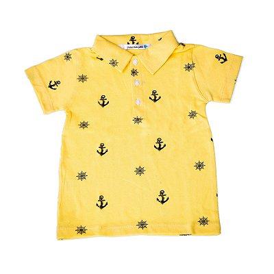 Polo Âncora Amarela
