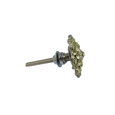 Puxador Porta Cerâmica/Metal FL HW1176 03163