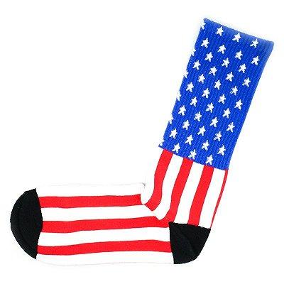Par de Meias Bandeira Americana