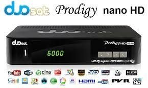 receptor duosat prodigy hd nano 3d + hdmi - telecine on demand