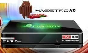 receptor cinebox maestro hd - android 4.4 iks/sks/cs wifi