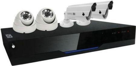 DVR Orange OR-D4300KIT - Kit 4 Canais com 4 Câmeras