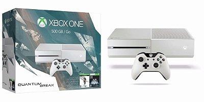 Xbox One 500gb White Branco Quantum Break Bundle