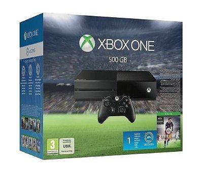 Console Xbox One 500gb + Fifa 2016 C/ 1 Controle - Microsoft