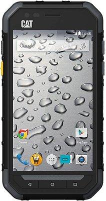Celular Caterpillar S30 - 4.5 Polegadas - Dual-Sim - 8GB - Prova D'água - Preto