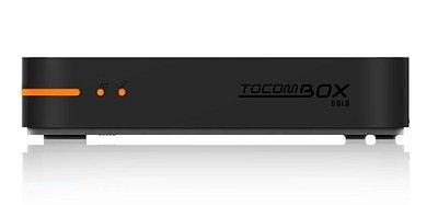 RECEPTOR TOCOMBOX NUEVO TOCOMBOX BOLD IPTV ANDROID DEJAVU + COM OPÇÃO SAT E CABO