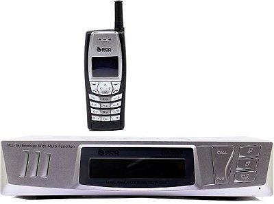 Telefone Sem Fio de Longo Alcance Eco Mania EM-6610 - 1 Telefone