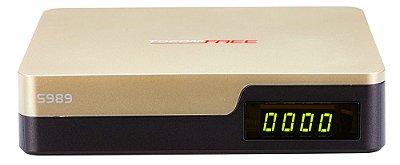 Receptor Tocomfree S-989 HD - Wi-Fi - F.T.A  ACM H.265  iks sks livre