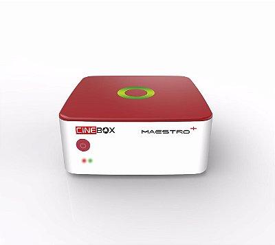 Cinebox Maestro ACM, H265  3 Tunners  Lançamento