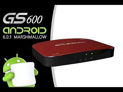 RECEPTOR GLOBALSAT GS 600 IPTV COM ANDROID 6.0.1